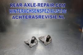 Motorsteun links en rechts, Opel Omega A, aluminium