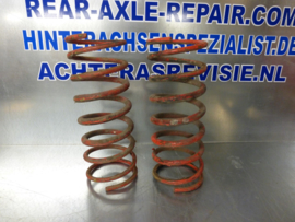 Rear springs red Opel Ascona, Opel Manta (set), red, 8,6MM, used