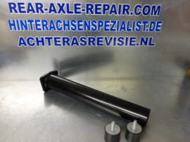 Steel torqtube, Opel incl 2 rubbers, M10x1,5 normal thread