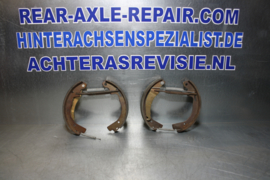 Brake shoes, Opel Kadett C 1.2 OHV, thin lining
