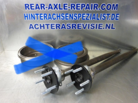 5x120 conversion set for rear axle Opel Manta B, Ascona B Without drums