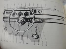 """Handleiding Opel Kadett """"B"""""""