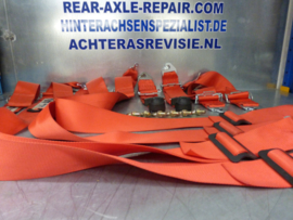 Rally seat belts, used, brand LTEC
