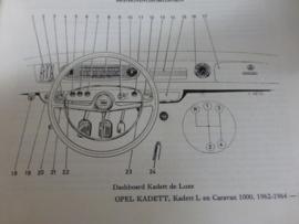 Vraagbaak Opel Kadett A vanaf 1962