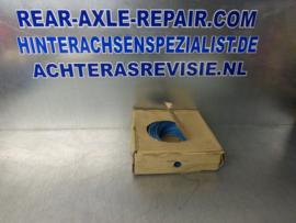 Montagedraad, Montagesnoer, Stroomkabel 100 meter blauw