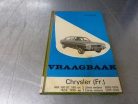 Auto Handbuch Chrysler Baujahr 1970 bis 1978