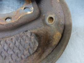 Caliper plate, right, Opel Rekord