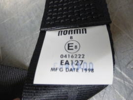 Lap seat belt, new, brand Norma