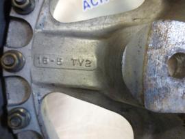 Tramont 5 gaats steek 5 x 120 aluminium velgen 11Jx16 (set van 2 velgen)