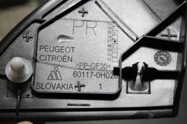 Citroen C1, Peugeot 107, rechter spatbordbeschermer.