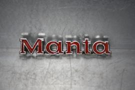 Opel Manta embleem tbv kofferdeksel, gebruikt