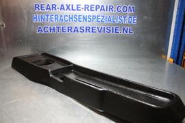 Tunnnel console Opel Ascona B, Manta B zwart, 4 bak uitvoering , 09288394, gebruikt