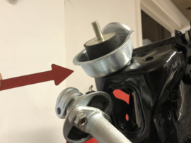 Kadett C 1200 motorrubber beschermers