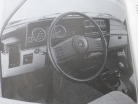Vraagbaak Opel Rekord E 1977 - 1982