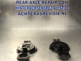 Brake anchor plate set Opel CIH rear axle.