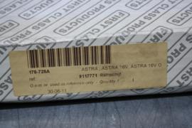 Remschijven set voor de Opel Astra, Astra 16V.
