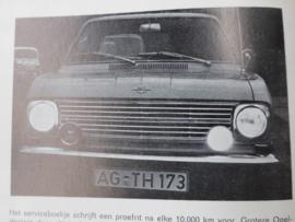 """Handleiding Opel Kadett """"B"""", nu kan ik het zelf"""