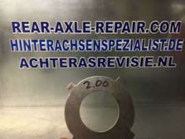 Limited slip plate, ZF006, outher plate 2.0MM