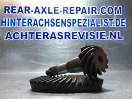 Kronen- / Ritzelradsatz, Uberstezung 11:39  Opel Rekord C / D / E