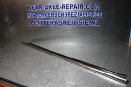 Sierstrip chroom linker deur van een Opel Manta B, gebruikt