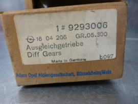 Sateliet/zonnewielset Opel Kadett D en E, 9293006