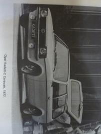 Vraagbaak Opel Kadett C 1973 - 1977