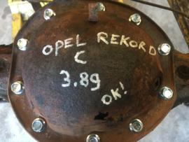 Rear axle Opel Rekord C 3.89