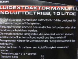 Vloeistofpomp 10 liter merk Welzh.