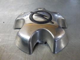 5 x Wielnaaf kap, chroom Opel 5 gaats (o.a. Commodore)
