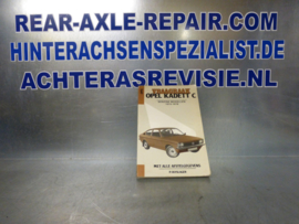 Vraagbaak Opel Kadett C 1973 - 1979