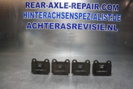 Remblokken ATE T0465, ABPA505FE, 13,8107-5507