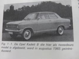 """Handboek Opel Kadett """"C"""", leer 'm kennen"""