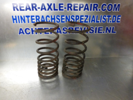 Rear springs for Opel Ascona and Manta, black, 7,06MM (set), used