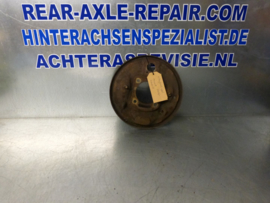 Brems Ankerplatte rechts (langes Rohr) Opel Ascona A, Manta A