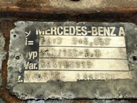 Achteras Volkswagen LT Mercedes-Benz 903  34:7 - 4.85