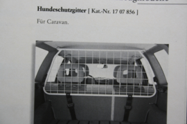 Opel accessoires boekje (Astra, Calibra, Corsa, Kadett, Omega, Senator, Vectra).