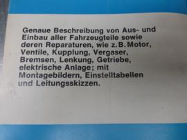 Opel Kadett B, Rallye Kadett, Olympia, GT handboek