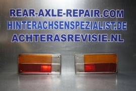 Achterlicht glas Opel Ascona A links en rechts gebruikt.