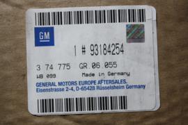 Aandrijfas linksvoor Opel Astra G (F08 / 48) (93184254)
