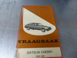 Vraagbaak Datsun Cherry 1979-1981