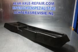 Tunnnel console Opel Ascona B, Manta B zwart, 4 bak uitvoering, 90072735, gebruikt