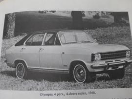 Vraagbaak Opel Kadett B 1967 - 1973 en Olympia