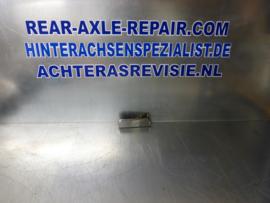 Deurklink Opel Manta B rechts, chroom met ribbels gebruikt