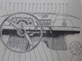 Vraagbaak Opel Olympia Rekord 1953 - 1962