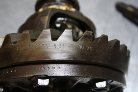 3.44 overbrenging, Opel Ascona, GT, Kadett, Manta, gebruikt.
