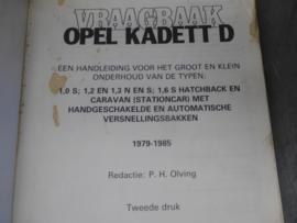 Vraagbaak Opel Kadett D (1979 - 1985)