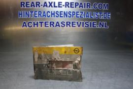 Inspectieboekje Opel Manta B GSi, gebruikt!