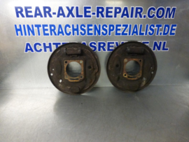 Caliper plates for Opel Ascona B and Manta B, left and right, used