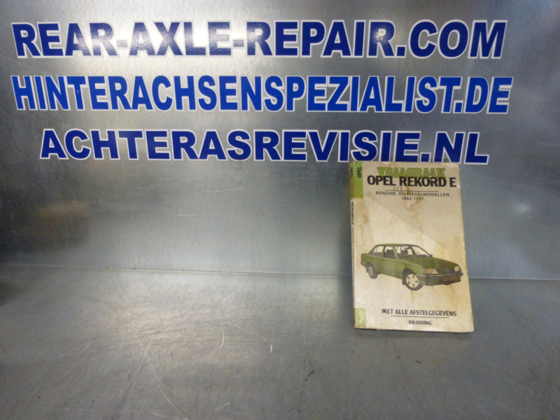 Vraagbaak Opel Rekord E 1982 - 1987