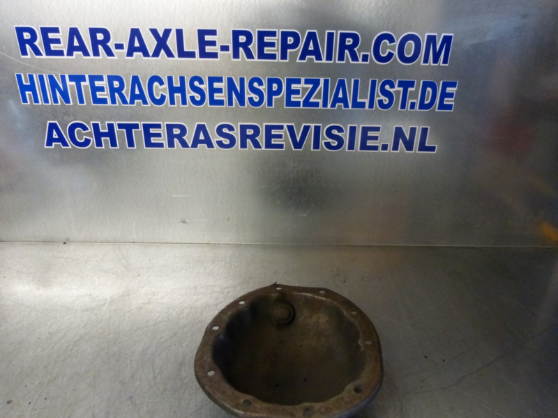 Cover for rear axle Opel without loop for brake duct